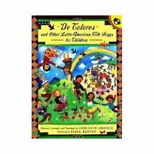 De Colores and Other Latin American Folksongs for Children (Anthology) (Spanish