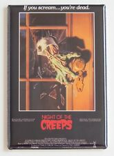 Night of the Creeps FRIDGE MAGNET (2.5 x 3.5 inches) movie poster horror