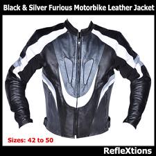 Motorcycle Leather Biker Jacket Rider Motorbike CE Protection Racing Jacket