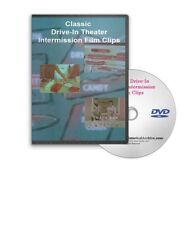 Classic  Drive-In Theater Intermission Film Clips DVD - A149