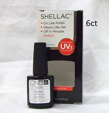 CND Shellac Gel Polish BASE COAT .42oz/12.5ml  ~ 6ct ~ Large @@SALE@@