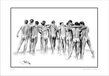MALE   REAR  NUDE STUDIES    GAY  INTEREST          LIMITED EDITION
