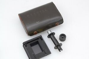 EXC+++ YASHICA TLR CAMERA 35mm FILM ADAPTER IN CASE, COMPLETE