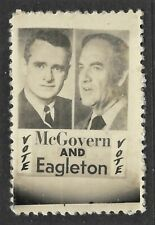 McGovern & Eagleton Campaign Stamp - Real Photo