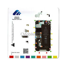iPhone 4S 4Gs Magnetic Screw Chart Mat Repair Guide Pad Tool