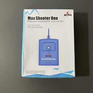 for PS3 PS4 XBox 360 XBox One - Max Shooter ONE Mouse/Keyboard Converter Adapter