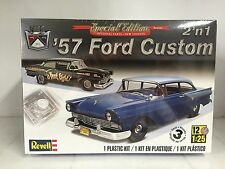 +++ Revell US Monogram 1/25 1957 Ford Custom 2 'n 1 Plastic Model Kit 85-4283