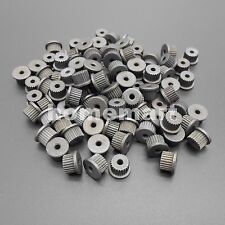 100PCS Motor Metal Gear Wheel Micro synchronous Pulley T=24 Aperture= 2.2mm 24T