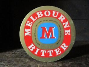 1990's Circa Melbourne Bitter Coaster X 1 Carlton & United Breweries Limited Aus