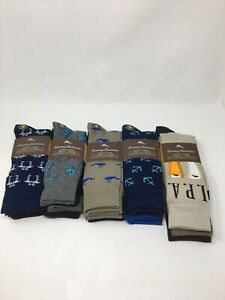 (4) Pairs of Tommy Bahama Men's Casual Crew Socks - (Choose) NEW