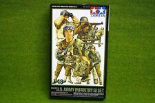 Tamiya WWII US ARMY INFANTRY G.I. SET 1/48 Scale Kit 32513
