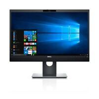DELL P2418HZM 23.8 Full HD LED Flat Black Monitor with Built in Webcam