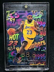 1995-96 Flair Hot Numbers Inspired Custom Lenticular Card Lebron James  #'d /23
