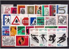 Bund Mi.Nr.Lot aus 656-683 ** Postfrische aus den Anfängen---ca.unter 20 M€--583