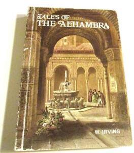 Tales of the Alhambra by Washington Irving Editorial Escudo de Oro PB English ED
