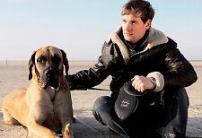 Flexi Rétractable Chien Géant Laisse XL - 8m - noir pour a Dog jusqu'à 50kg