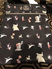 Loungefly Disney Nightmare Before Christmas characters Passport Crossbody Bag