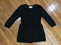 Joseph A. Brand Black 3/4 sleeve Top Blouse Size L