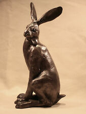 Frith Sculpture Bronze Hare Titania and Tiny