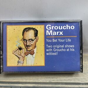 RARE VINTAGE 1985 GROUCH MARX YOU BET YOUR LIFE CASSETTE TAPE C1