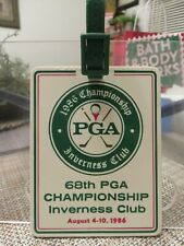68th PROFESSIONAL GOLFERS' ASSOCIATION (PGA) INVERNESS CLUB BADGE 1986