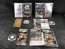 Sony PSP , lot de trois jeux complets
