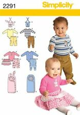simplicity Toddler Female Mixed Lot Sewing Patterns