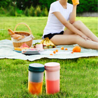 300ml Mini Portable Electric Fruit Juicer Smoothie Maker Bottle Juicing Cup