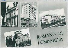 CARTOLINA d'Epoca  BERGAMO  - Romano di Lombardia