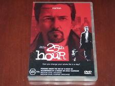 25th Hour - R4 DVD Spike Lee Edward Norton