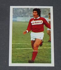 N°155 JACKY VERGNES NIMES OLYMPIQUE CROCOS AGEDUCATIFS FOOTBALL 1972-1973 PANINI