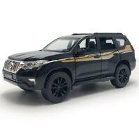 1:32 Toyota Land Cruiser Prado SUV Model Car Diecast Toy Vehicle Pull Back Black