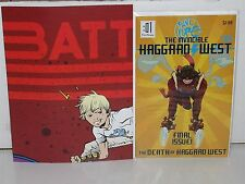 BATTLING BOY - Paul Pope - THE INVINCIBLE HAGGARD WEST #101 + Rare PROMO Poster