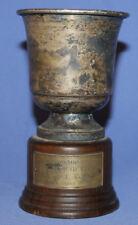 1991 Italian Award Prize Silverplated Cup