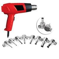 8pcs Round Nozzle for 850 Hot Wind Air Heat Gun Welding Heat Resistant Soldering
