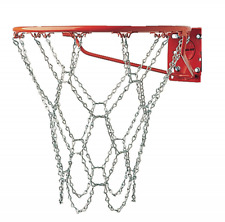 Champion Sports Heavy Duty Metal Chain Link Basketball Net, Fits Standard Indoor