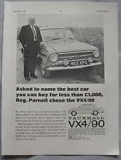 1963 Vauxhall VX4/90 Original advert No.3