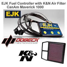 CAN AM Maverick 1000 EJK Fuel Injection Controller & K&N Air Filter CM-8011 Max