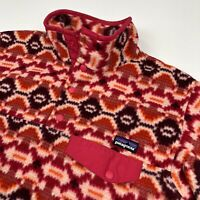 Patagonia Synchilla Snap T Fleece Pullover Sweater Aztec Southwest • Small