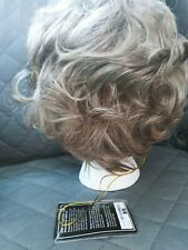 Aspen, Short Brown/Champagne Blonde Wig Sexy/Whispy.. Carolyn C-133 New in Box