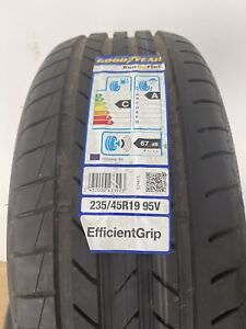 1 X New 235 45 19 Goodyear EfficientGrip 235/45R19 95V MO Extended RFT Summer