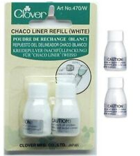 Clover 470W Refill Chaco Liner White Fabric Marker Sewing Applique NEW