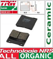 Plaquettes frein Arrière Organique TRW MCB531 Suzuki GSF 600 Bandit GN77B 94-99