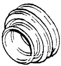 VAUXHALL CONNECTOR - GENUINE NEW - 90466099