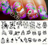 BORN PRETTY Nail Art Stamping Plate Lovely Owl Pattern Image Template BP-L019