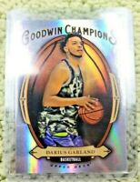 2020 UD Goodwin Champions GB-9 Darius Garland Silver Refractor Cleveland Cavs