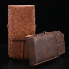 Luxury PU Leather Vertical Holster Belt Clip Loop Pouch Card Case Cover For LG