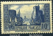 FRANCE PORT DE LA ROCHELLE N° 261 NEUF * AVEC CHARNIERE COTE 84€