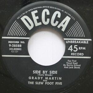 Jazz NM! 45 Grady Martin And The S Pie Five - Side By Side / A Fool Such Como