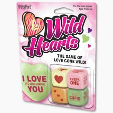 WILD HEARTS - DRINKING DICE GAME - BRAND NEW - PARTY 02137